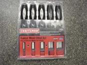 CRAFTSMAN Cement Hand Tool 5-PIECE WOOD CHISEL SET